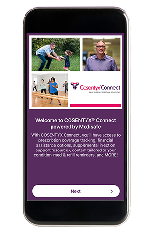cosentyx connect phone app
