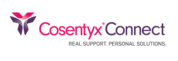COSENTYX® Connect Real Support. Personal Solutions logo