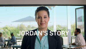 The effects of psoriatic arthritis made it hard for Jordan to get through a day of work. Now that she's feeling better, parts of her job feel a little easier.